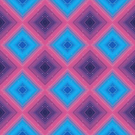 Abstract  with rhombus. Seamless geometry pattern Illusztráció