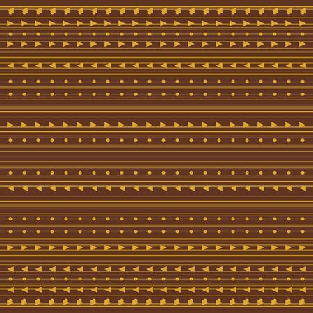 Fondo astratto della geometria con le bande. Varie linee orizzontali.