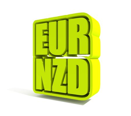 Financial market concept. Currency pair. Acronym EUR - European Union currency. 版權商用圖片