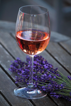 Lavender and Wine