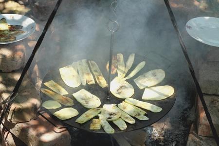 baking zucchini Reklamní fotografie - 46792149