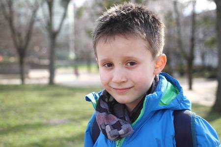 Boy is smiling Reklamní fotografie