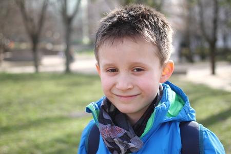 Smiling boy Reklamní fotografie