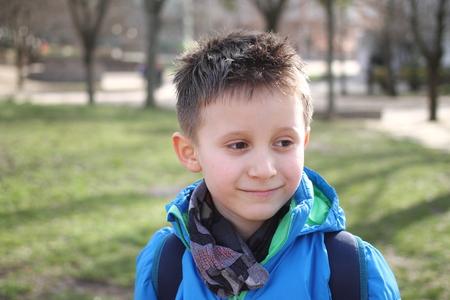 Happy boy is smiling Reklamní fotografie