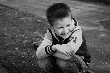 Boy is laughing Reklamní fotografie