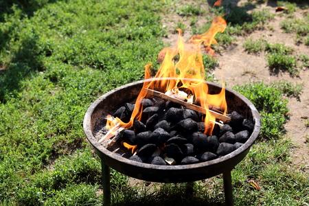 Fireplace Reklamní fotografie - 65335624
