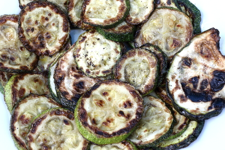 calabacin: calabacín grillled