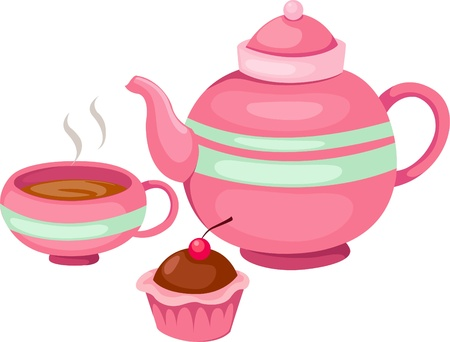 tea set  Stock Vector - 9991859