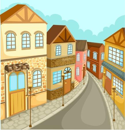 condo: cityscape