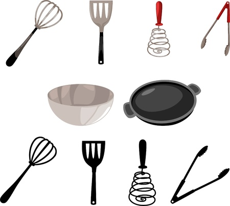 small tools: illustration Kitchen Tool