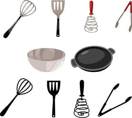 illustration Kitchen Tool