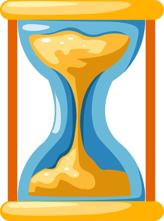 illustration Hourglass Stock Vector - 12216908