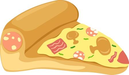 chunk: Pizza  Illustration