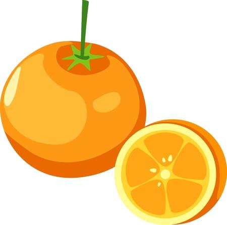 illustration orange Stock Vector - 12217090