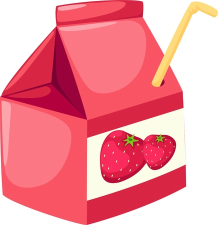 Strawberry juice Stock Vector - 12217212