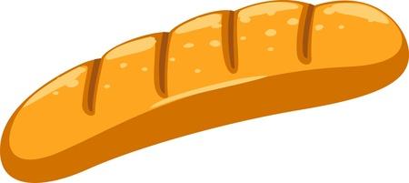 pan con mantequilla: ilustraci�n de pan