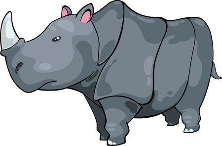 illustration Rhino vector file Vector