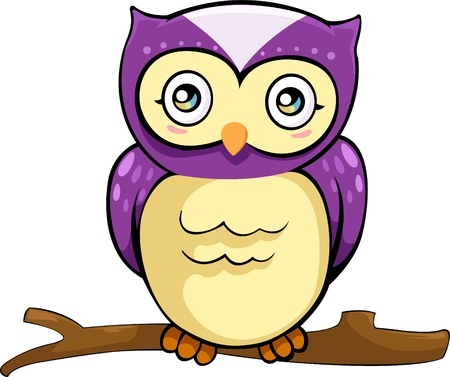 illustration owl  vector file Vector