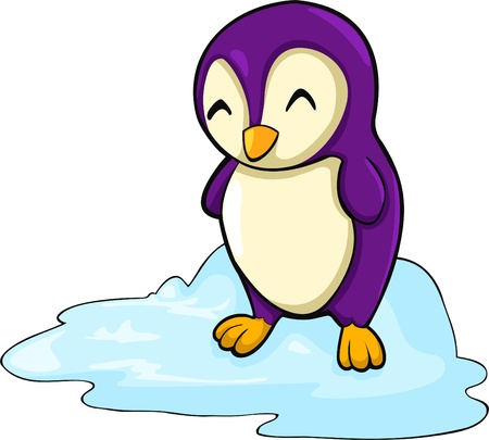 illustration penguin  vector file Vector