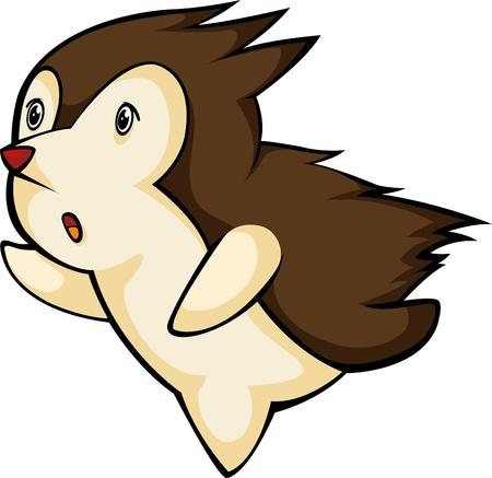 porcupine: illustration Porcupine  vector file