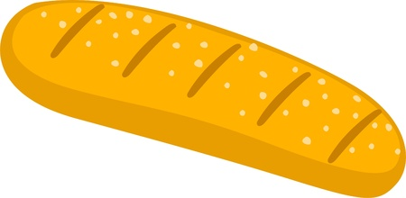 illustration Bread vector Vector