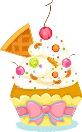 Cupcake Stock Vector - 12703060