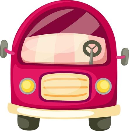 front wheel: Orange car and Van