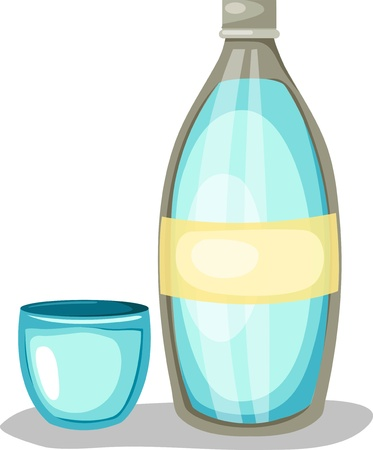 carbonated: Water bottle