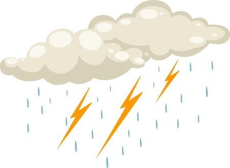 rain icon vector illustration Vector