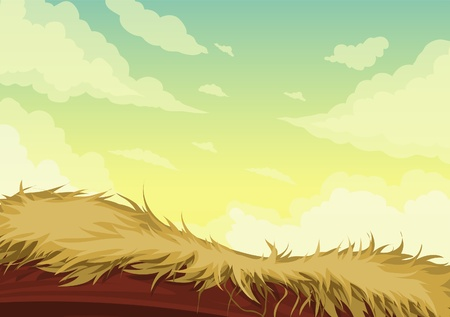 illustration Beautiful Landscape Background Stock Vector - 12703153