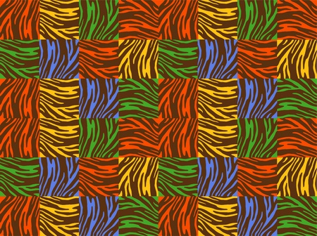 background pattern vector tiger  Vector
