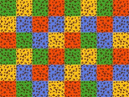 background pattern vector leopard  Vector