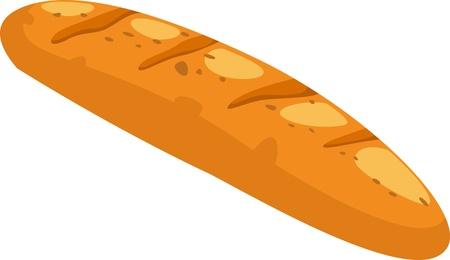 pan con mantequilla: pan de ilustraci�n vectorial Vectores