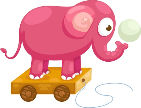 shrank: elephant illustration Illustration