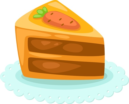art piece: cake vector illustration  Illustration