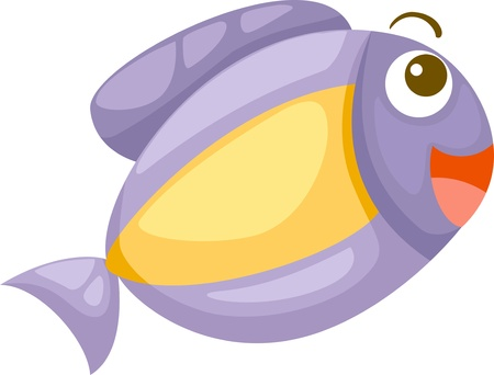 marina life: fish vector Illustration