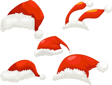party hats: santa hat