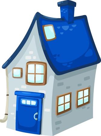 arquitecto caricatura: casa Ilustración Vectores