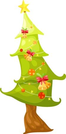 Christmas tree  illustration  Stock Vector - 15657177