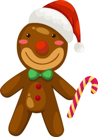 Gingerbread vector  Stock Vector - 15657236