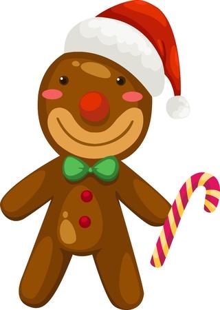 gingerbread cake: Gingerbread vector