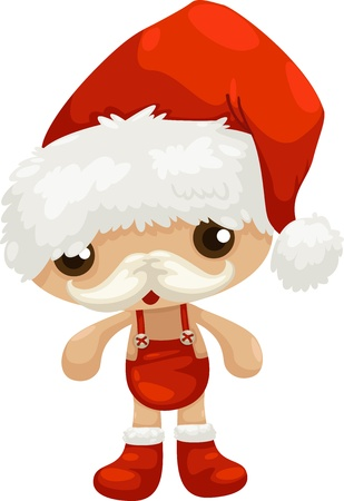 santa claus vector illustration Stock Vector - 15657246