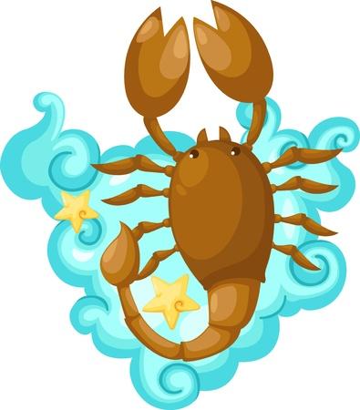 Zodiac signs - scorpio Illustration Vector Illustration