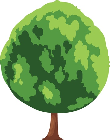 Tree vector Stock Vector - 16500440