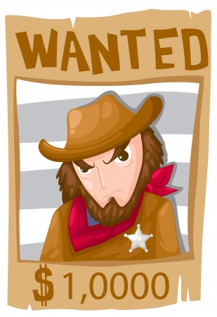 wanted poster  Stock Vector - 16739297