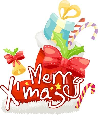 giftbox: gift-box merry christmas