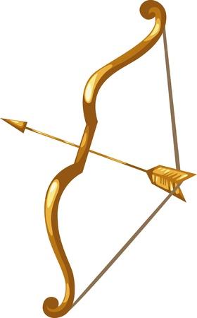 horse warrior: Zodiac signs -Sagittarius icon Illustration Illustration