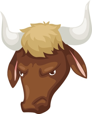 Zodiac signs - Taurus icon Illustration Stock Vector - 16857889
