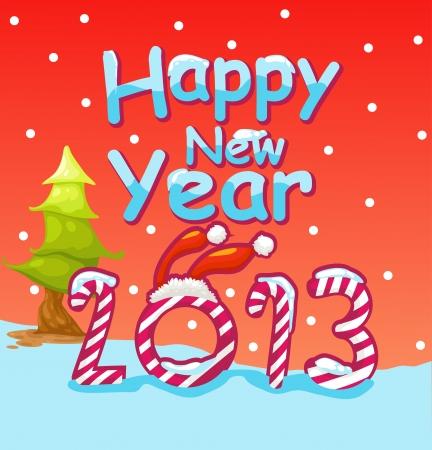new year 2013 Stock Vector - 16857882