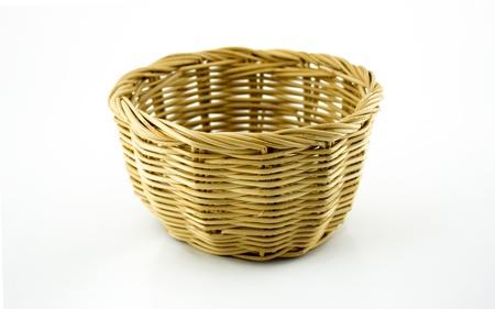 splice: Basket on white background